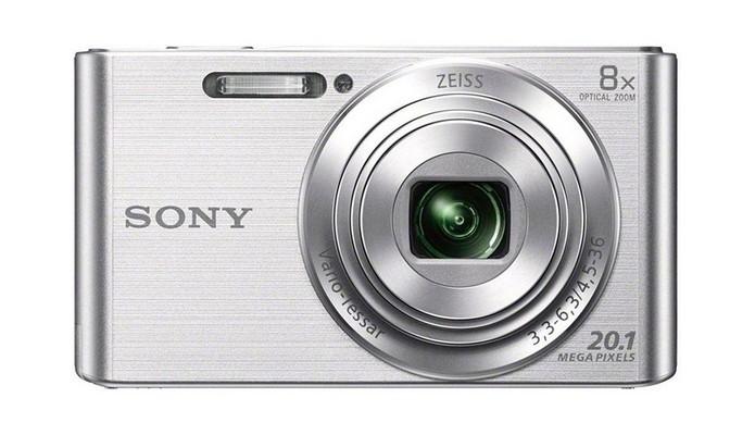 Câmera Sony Cyber-Shot W830 (Foto: Divulgação/Sony)