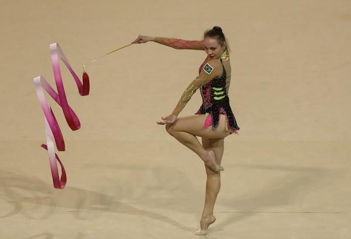 Angélica Kvieczynski ginástica rítmica fita Jogos Pan Americanos Toronto 2015 (Foto: Sergio Dutti/Exemplus/COB)
