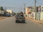Cadeirante é flagrada em carroceria de veículo em bairro de Cuiabá