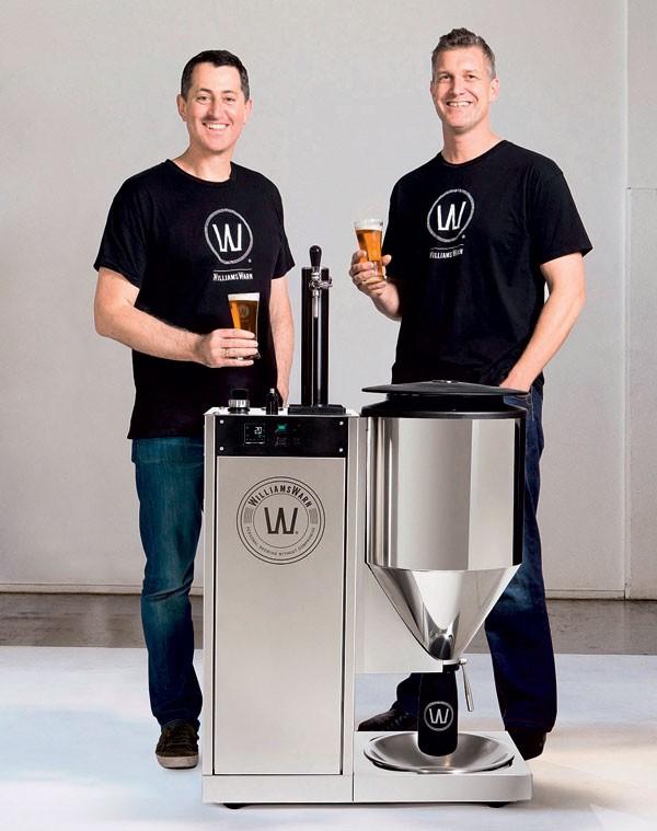 Ian Williams e Anders Warn (Foto: divulgação)