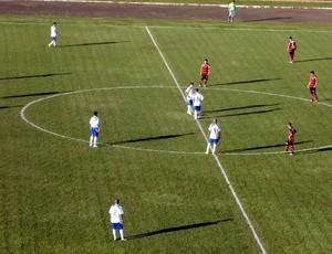 Santo André 1 x 1 Oeste - Série C (Foto: Fabrício Cortinove Pelachine/EC Santo André)