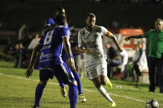 Henrique na vitória do Fluminense sobre o Sinop (Foto: NELSON PEREZ/FLUMINENSE F.C.)
