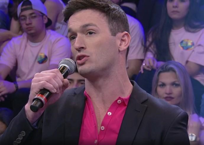 Diego Hypolito foi jurado do 'Dança dos Famosos' (Foto: TV Globo/Divulgação)
