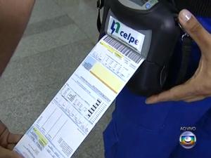 Celpe lança novo sistema de emissão de conta de energia. (Foto: Reprodução/ Globo Nordeste)