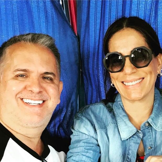 Orlando Morais e Glória Pires (Foto: Instagram / Reprodução)