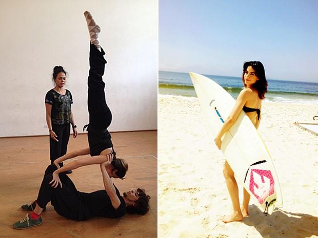 Luisa pratica yoga e adora fazer exercícios ao ar livre (Foto: Arquivo pessoal)