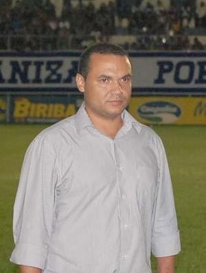 Presidente da URT Clayton Lima  (Foto: Frederico Rocha)