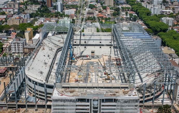 estádio arena da baixada (Foto: Divulgação  )
