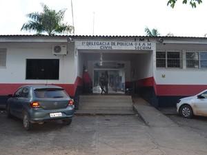 Caso foi registrado na Delegacia de Ji-Paraná, RO (Foto: Mônica Santos/G1)