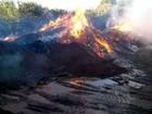 Incêndio atinge galpão no Distrito Industrial de Uberlândia