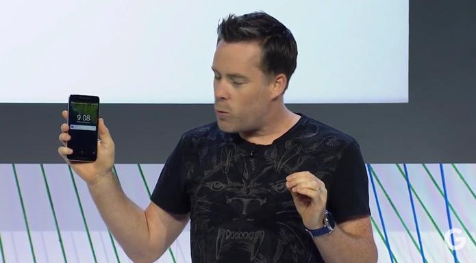 Nexus 6P foi apresentado nessa terça-feira com novo design e configurações (Foto: Reprodução/Google)