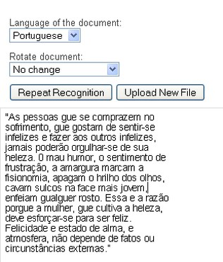 screenshot de NewOCR.com