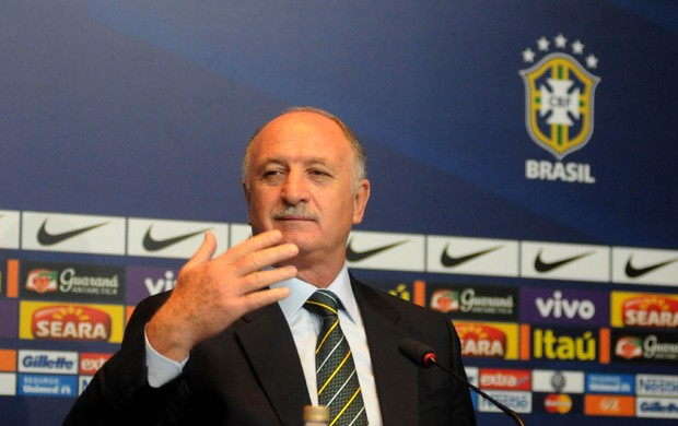 felip&atilde;o luiz felipe scolari convoca&ccedil;&atilde;o coletiva sele&ccedil;&atilde;o brasileira (Foto: Andr&eacute; Dur&atilde;o)