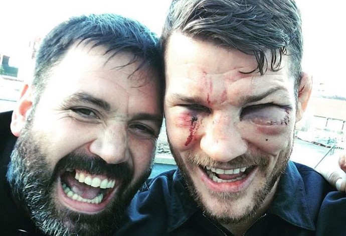 Michael Bisping, Konrad Bisping, UFC 204, MMA (Foto: Reprodução/Instagram)