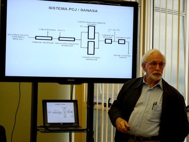 Professor Ivanildo Hespanhol da Universidade de São Paulo (Foto: Claudia Assencio/G1)