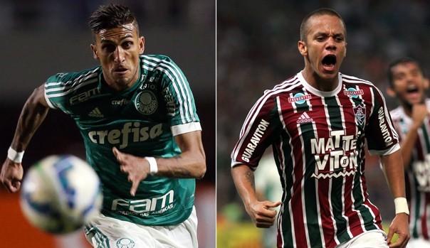 Palmeiras e Fluminense decidem vaga para a final da Copa do Brasil (Foto: Divulgação)