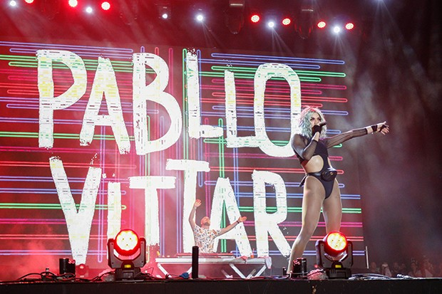 A drag queen Pabllo Vittar, uma das atrações do Festival de Salvador (Foto: Ricardo Cardoso / G.LAB)