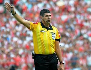 marcelo de lima henrique árbitro (Foto: Aldo Carneiro / Pernambuco Press)