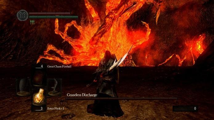 Não fique muito distante de Ceaseless para não ser pego pelo Fire Breath (Foto: Divulgação/Steam)