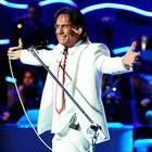 Roberto Carlos canta Lobo Mau em parceria (Divulgação/TV Globo)