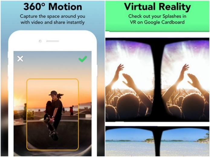 Splash é o Snapchat das fotos em 360 graus (Foto: Divulgação/Splash)