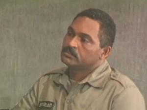 Ex-segurança de PC Farias, Reinaldo Correia de Lima Filho (Foto: Reprodução/TV Gazeta)