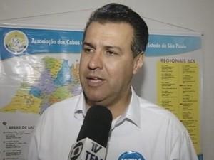 Capitão Augusto foi eleito por Ourinhos  (Foto: Reprodução / TV TEM)