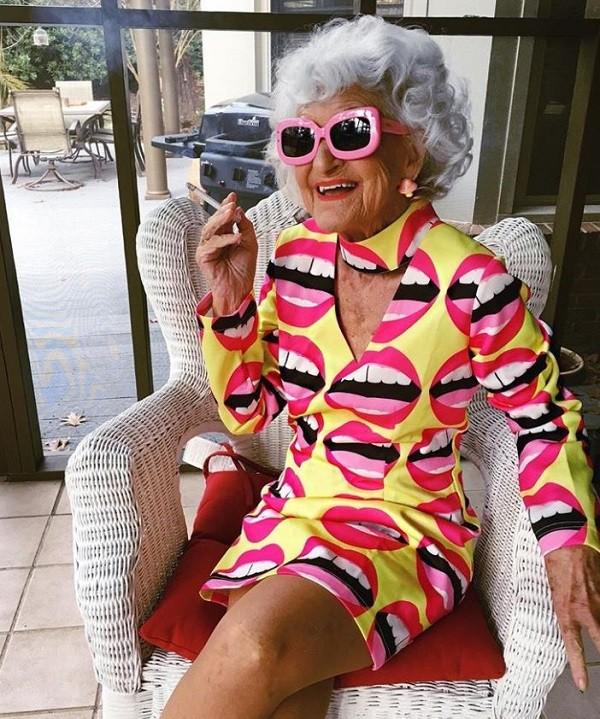 Baddie Winkle é convidada para vários eventos de moda  (Foto: Reprodução Instagram)