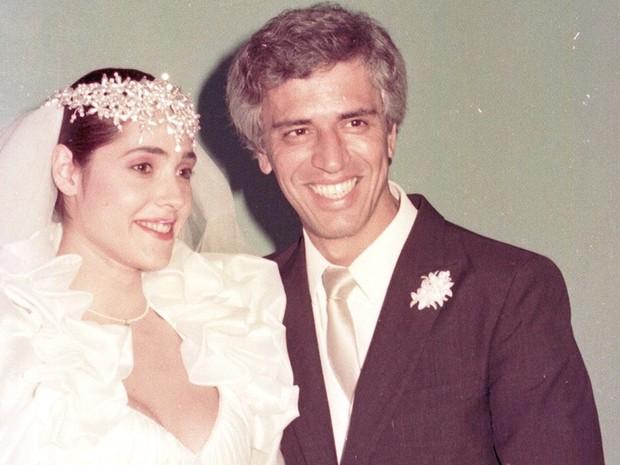 Christiane Torloni (Jô) e Nuno Leal Maia (Fábio)