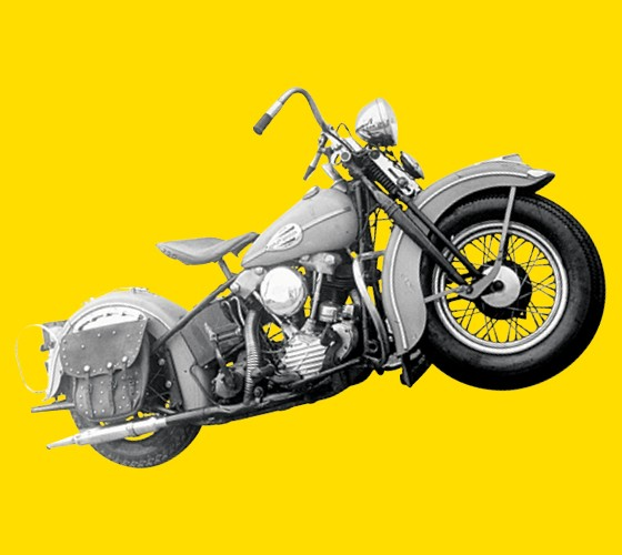 Harley Davidson - 1950 (Foto: Getty Images)