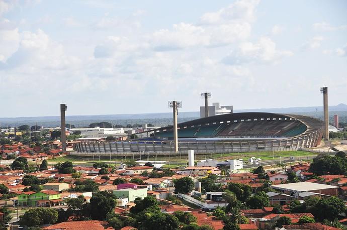 Estádio Albertão, em Teresina (PI) (Foto: Juscel Reis)