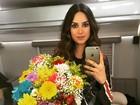 Thaila Ayala confirma participação em filme de Pica-pau: 'Superfeliz'