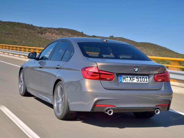 BMW Série 3 2016 (Foto: Divulgação)