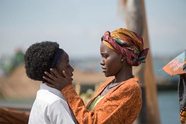 Madina Nalwanga e Lupita Nyong'o (Foto: Reprodução Imdb)
