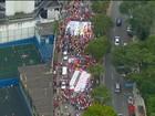 Manifestações de domingo (13) também apoiaram o governo e Lula