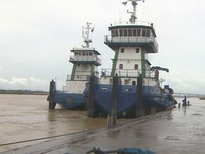 Fluxo no Porto Organizado aumento em 300% (Foto: Reprodução/TV Rondônia)
