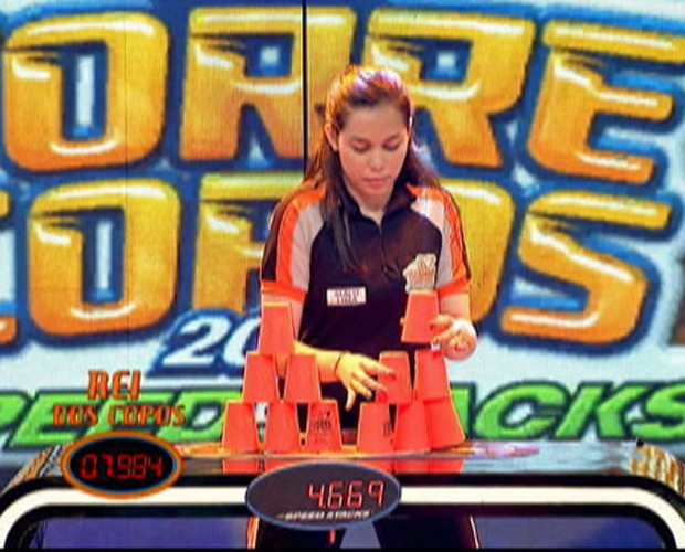 Segunda semana do Torrecopos tem primeira menina na disputa (Foto: Caldeirão do Huck/TV Globo)