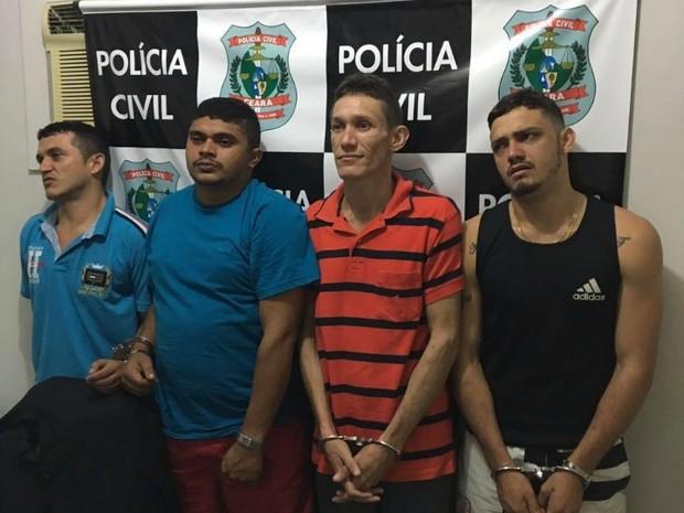 Polícia prende grupo especialista em assalto a carro-forte (Foto: Reprodução)