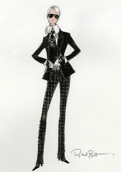 Barbie do Karl Lagerfeld (Foto: Divulgação)
