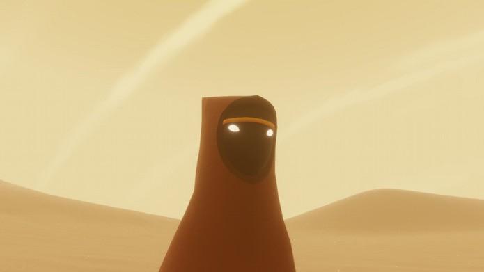 Eis o enigmático protagonista do manto vermelho (Foto: Reprodução/Victor Teixeira)