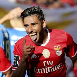 Salvio Benfica x Feirense (Foto: EFE)