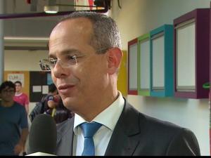 Secretário Estadual de Educação, Frederico Amâncio (Foto: Reprodução/TV Globo)