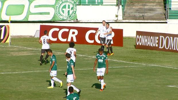 União Barbarense x Guarani (Foto: Reprodução EPTV)