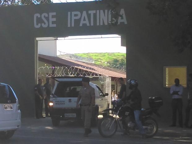 Novo Centro Socioeducativo de Ipatinga, no Vale do Aço (Foto: Patrícia Belo / G1)