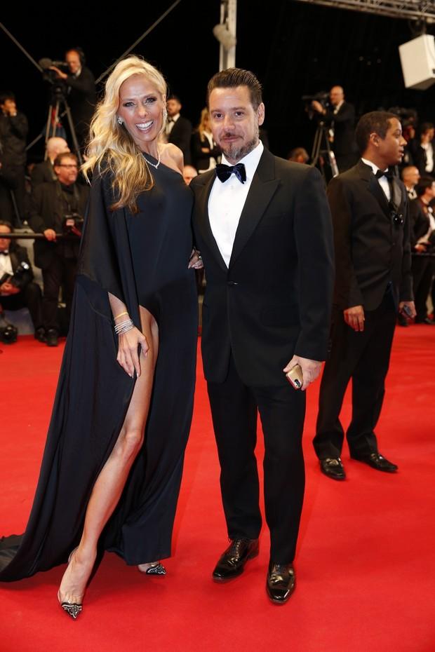 Adriane Galisteu e Alexandre Iódice (Foto: Felipe Panfili/AgNews)
