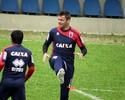 Lesões musculares vetam Giancarlo e Lucas Otávio para jogo contra o ABC
