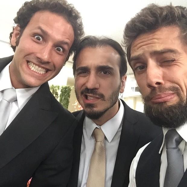 Ítalo Guerra, Samuel Toledo e Rafael Cardoso (Foto: Instagram)