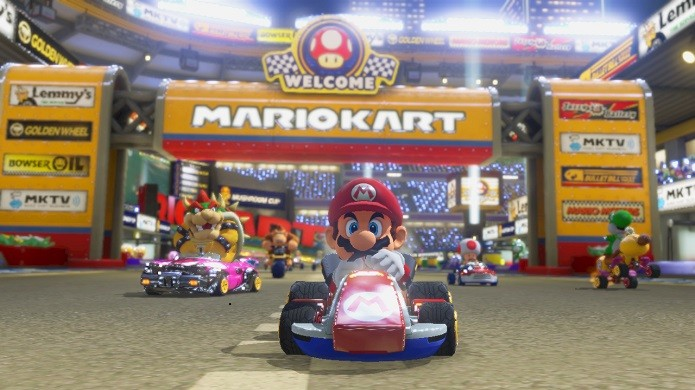 Mario Kart 8 terá várias novidades (Foto: Divulgação/Nintendo)