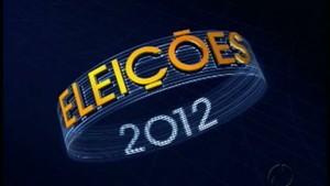 Logo eleições 2012 (Foto: Reprodução/RPCTV)