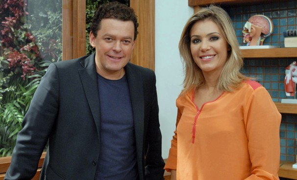 Fernando Rocha passa a dividir a apresentação do Bem Estar com Flávia Freire (Foto: Zé Paulo Cardeal/Globo)